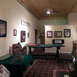 a room in the museum