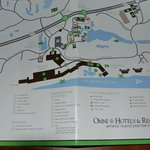 Directions to the hotel with Omni logo