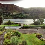 View of Loch Earn from loch view room