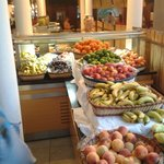 fruit section in restaurant