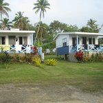Private fale's with own shower and toilet