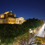 View from Hotel Verdi of Teatro Massimo