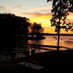 Sunset on Gull Lake