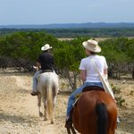 Horse Riding in the Hill Country