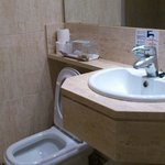 Small bathroom Hotel Hispania Mallorca Arenal