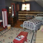 Upstairs single bed