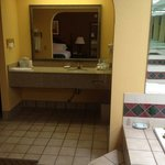 Presidential Suite Bathroom at Holiday Inn Express Milton FL