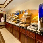 Start you day with our breakfast buffet!