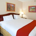 Holiday Inn Express Braselton King Bed Guest Room