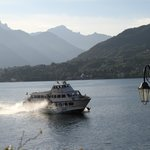 Hydrofoil to Bellagio and other places