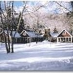 The Blake House in winter