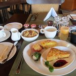 Breakfast is better than any other meal at the hotel.