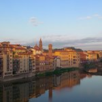Sunrise Arno view