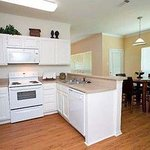 Plano Furnished Apartment Kitchen