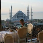 breakfast with the Blue Mosque