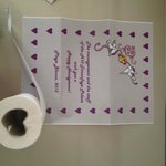 The maid even made us a Romantic Toilet Roll!,