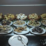 buffet de patisseries orientales