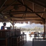 Beach Bar - outside the village
