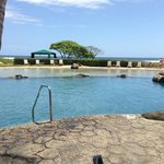 The pool next door at the Kauai Beach Resort