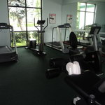Part of the work out room