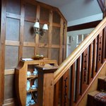 OAK PANELLED INTERIOR ENTRANCE HALL