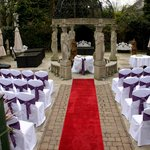 our wedding ceremony lay out