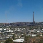 Over looking Mt Isa at the lookout  !
