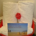 Rose & towels