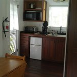 Bamboo Suite Kitchenette
