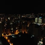Night view from 34th floor