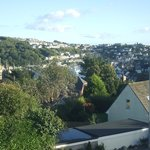 Fowey estuary looking towards Polruan