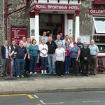Outside The Royal Sportsman Porthmadog