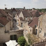 Noyers - the view from the first floor