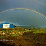 Rainbow over The Dingle Distillery