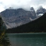 Sherbrooke Lake In Yoho National Park