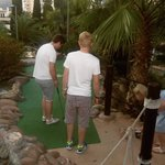 The mini golf next to hotel, really good!