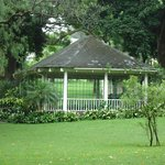 The bandstand in the park can be hired for functions