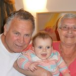 Sandra & John With Our Grand Daughter Maddy.