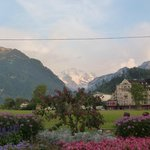 Interlaken looking at Eiger