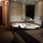 Jacuzzi Tub in suite