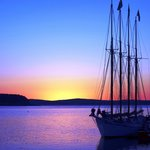 August Sunrise on Bar Harbor, Acadia, ME