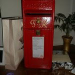 Georgian post box for hire