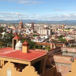 Beautiful panoramic view of San Miguel