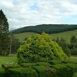 Dalmunzie House Hotel - Views to bonnie braes