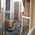 looking down towards Circular Quay