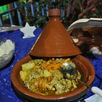 Homemade tagine prepared by Cli