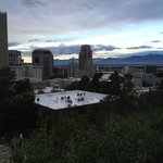 Sunrise View of Salt Lake City from Inn on the Hill
