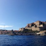calvi on our hire boat.