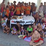 Nutella Party in piscina