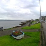 Kirn seafront, near Kirn Church & old Pierhead